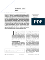 Incidental Renal and Adrenal Masses