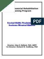 Sst Clinicians Handbook