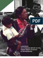 Karapatan 2012 Human Rights Report