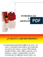 Formação Introdução  Aromaterapia