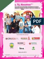 Estudio Violencia en Tres Poblaciones de Mujeres en Bolivia