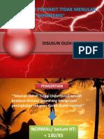 EPIDEMIOLOGI HIPERTENSI