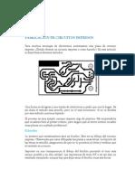 Diseño y construcción de circuitos impresos