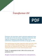 Transformer Oil 1