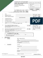 Application Final for Transcript