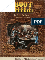 Boot Hill Referee's Screen and Mini Module