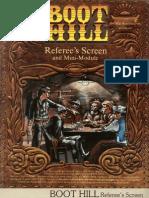 Boot Hill Referee's Screen and Mini Module