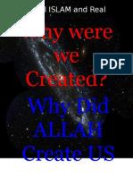 3015089 Why Did ALLAH Create Mankind