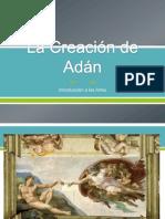 AGUILAR GARCIA -La Creación de Adán