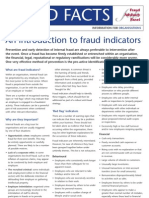 Fraud Indicators