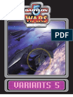 Babylon 5 Wars - Variants 5