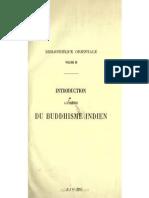 Introduction à l'Histoire du Buddhisme Indien 1 (Burnouf 1844)