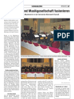 Pfarreimusik und Musikgesellschaft fusionieren