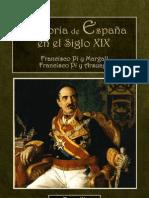 Historia Siglo XIX, Pi y Margall Tomo III