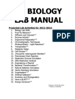 How to Write a Lab Report 2012-2013