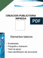 Creacion Publicitaria Impresa