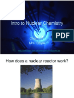 1 Intro to Nuclear Chemistry