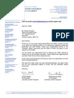 Declaration by CJC
