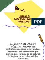 UNIDAD 5. El Contrato Administrativo