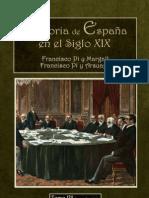 Historia Siglo XIX, Pi y Margall Tomo VII (2 Parte)
