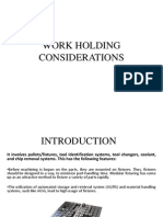 Workholding Considerations ppt 3rd year b.tech