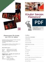 Kinder tanzen Flamenco