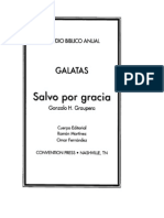 Galatas - Salvos Por Gracia - Gonzalo Graupera
