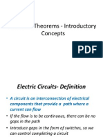 Network Theorems - Introductory Concepts
