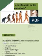 Evolución y clasificación de los seres vivos