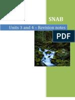 Unit 2 Revision Notes