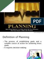 Pom Planning