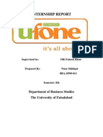 Ufone Internship