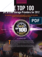 Top 3PL & Cold Storage Providers for 2012