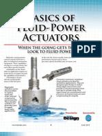 Fluid-Power Actuators Basics