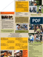 Raccoon River Bible Camp Brochure