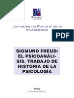 Sigmund Freud el psicoanálisis. Trabajo de historia de la psicología