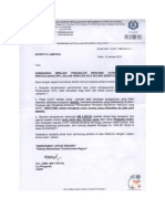 Letter Approval for PPL Induction Course