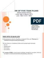 4, 5 & 6 five year Plans