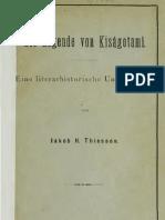 Thiessen_1880_Die Legende von Kisagotami. Eine Literaturhistorische Untersuchung