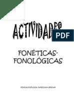 _AcTiViDaDeS fonét- fonol