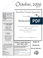 SRTA Newsletter October 2006