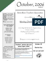 SRTA Newsletter October 2006