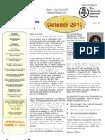 SRTA Newsletter October 2010