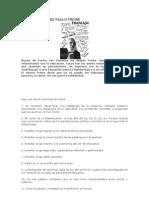 LAS 20 MÁXIMAS DE PAULO FREIRE