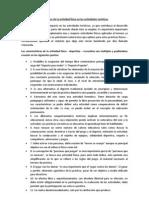 Características y propósitos de la actividad física en las actividades turísticas