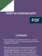 AULA 5 - FASES E BARREIRAS NA COMUNICAÇÃO