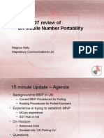 UK Mobile Number Portability