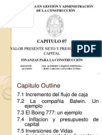 7 Ross7 Valor Presente Neto y Presupuesto de Capital 1219013730126771 9