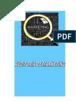 Auditoria de Marketing a La Empresa