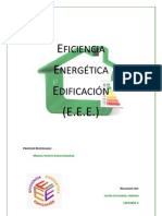 Eficiencia Energética Edificación